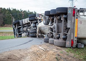 Two Injured from Semi-Truck Accident South of Eugene